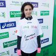 Aïda Touihriau marathon de Paris le dimanche 7 avril 2013 pour courir sous les couleurs de Mécénat Chirurgie Cardiaque