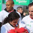 Les stars au marathon de Paris le dimanche 7 avril 2013 pour courir sous les couleurs de Mécénat Chirurgie Cardiaque