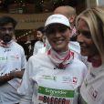 Vidéo des stars participant au marathon de Paris du 7 avril 2013 pour Mécénat Chirurgie Cardiaque.