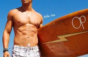 Kellan Lutz : Sexy et musclé à la plage, après Twilight, il joue les mannequins