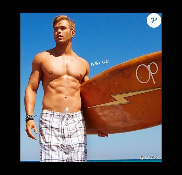 Kellan Lutz dans la nouvelle campagne printemps-été de la marque de vêtements de plage Op.