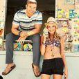 Kellan Lutz et Katrina Bowden dans la nouvelle campagne printemps-été de la marque de vêtements de plage Op.