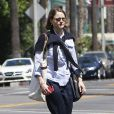 Exclusif - Jodie Foster à Beverly Hills le 12 avril 2013