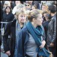 Valeria Bruni-Tedeschi et sa mère Marisa le 17 octobre 2008