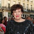Roselyne Bachelotau Palais Garnier pour le Gala des 300 ans de l'école de danse de l'Opera à Paris le 15 avril 2013.