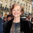 Brigitte Ayraultau Palais Garnier pour le Gala des 300 ans de l'école de danse de l'Opera à Paris le 15 avril 2013.