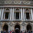 Gala des 300 ans de l'école de danse de l'Opera à Paris le 15 avril 2013.