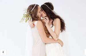 Jemima Kirke (Girls) : Un joli baiser lesbien pour vanter un mariage osé