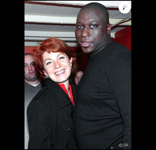 Mouss Diouf et Véronique Genest en 2003 à Paris.