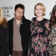 Busy Philipps, Sam Rockwell, Evan Rachel Wood et Kat Coiro à la présentation du film A Case of You  au festival du film de Tribeca à New York, le 21 avril 2013.