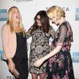 Busy Philipps, Kat Coiro et Evan Rachel Wood enchantées et enceintes à la présentation du film A Case of You  au festival du film de Tribeca à New York, le 21 avril 2013.