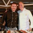 Dîner des Grands Chefs au Old Billingsgate à Londres, le 22 avril 2013.