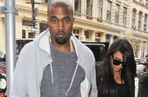 Kim Kardashian : Enceinte et sexy au bras de Kanye West pour une séance shopping