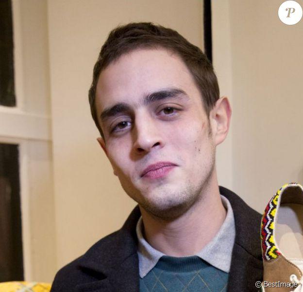 Exclusif - Benjamin Siksou à l'inauguration de la première boutique Twins For Peace à Paris le 7 février 2013.