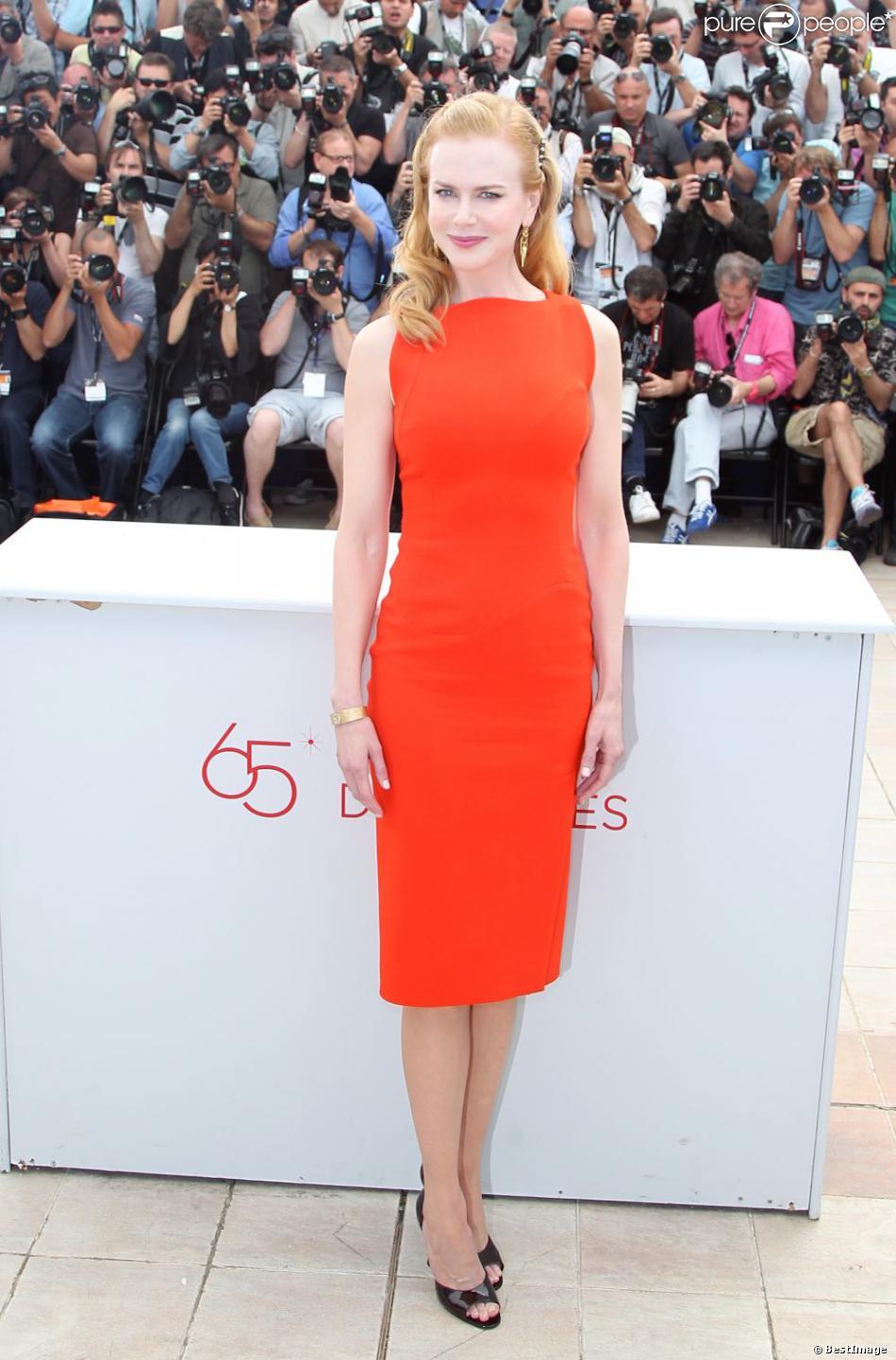 Nicole Kidman à Cannes pour le photocall du film Paperboy le 24 mai 2013