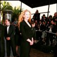 Nicole Kidman au Festival de Cannes 1995.