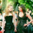 Nicole Kidman et sa soeur à Moulin Rouge au Festival de Cannes 2001.
