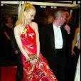 Nicole Kidman pieds nus pour Dogvill au Festival de Cannes 2003.