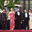 Nicole Kidman et Stellan Skarsgard au Festival de Cannes 2003.