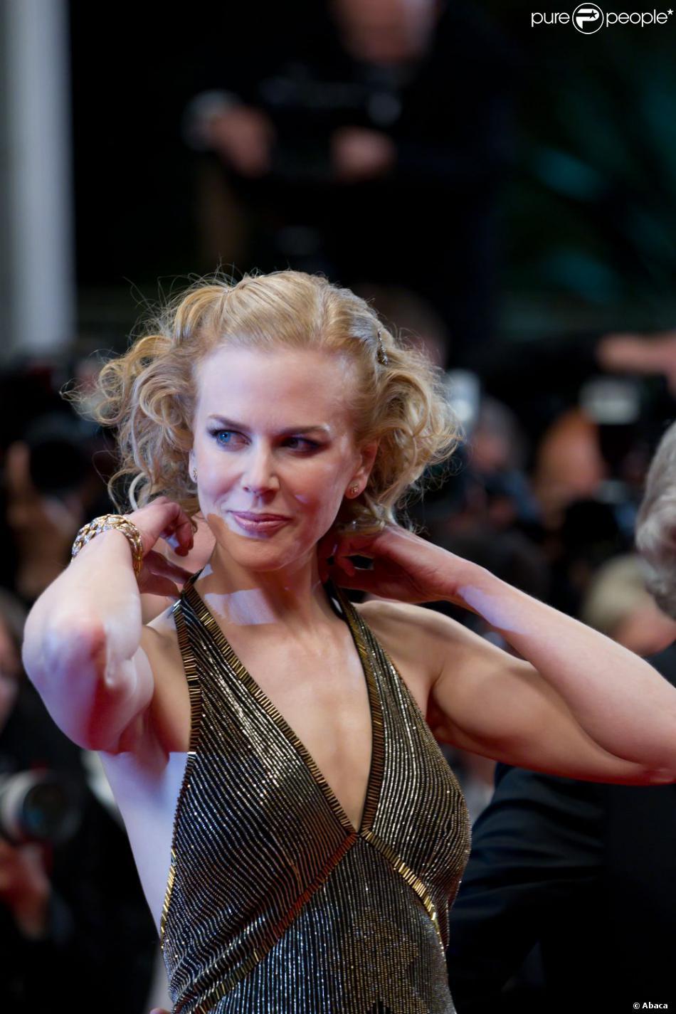 Nicole Kidman brille à la présentation de Hemingway & Gellhorn au Festival de Cannes 2012.