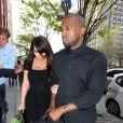 Kim Kardashian et Kanye West à New York, le 24 avril 2013.