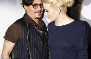 Johnny Depp et Amber Heard : Main dans la main au concert des Stones