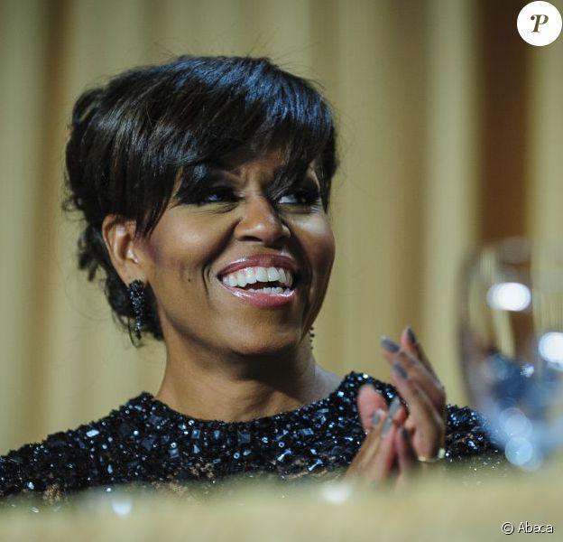 Michelle Obama le 27 avril 2013 à Washington.