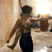 Alicia Keys : En bustier doré pour son New Day, la Girl on Fire fait sa Beyoncé
