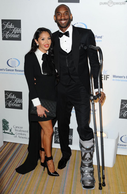 d3c2e62cb1669 Kobe Bryant et sa femme Vanessa Laine lors de la soirée An Unforgettable  Evening Benefiting EIF