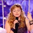 Louane dans The Voice 2, le samedi 4 mai 2013.