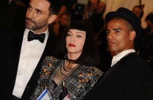 Madonna : Elle officialise avec Brahim Zaibat au MET Ball 2013