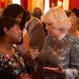 Le prince Charles et Camilla Parker Bowles organisaient le 7 mai 2013 au palais St James, à Londres, une réception en l'honneur de la communauté britannico-caribéenne.