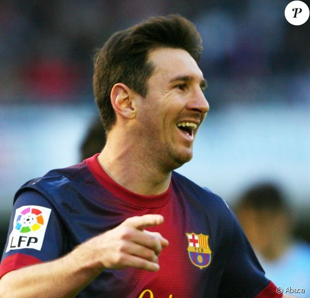 Lionel Messi à Vigo, le 30 mars 2013.