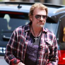 Johnny Hallyday à Beverly Hills, le 8 mai 2013.