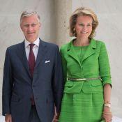 Mathilde de Belgique : Glamour et acidulée au CIO avec le prince Philippe