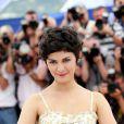 Audrey Tautou, délicieuse maîtresse de cérémonie, pendant le photocall au 66e Festival de Cannes le 14 mai 2013.