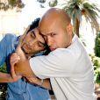 Eric et Ramzy lors de la promotion au Festival de Cannes du film Les Dalton le 20 mai 2003