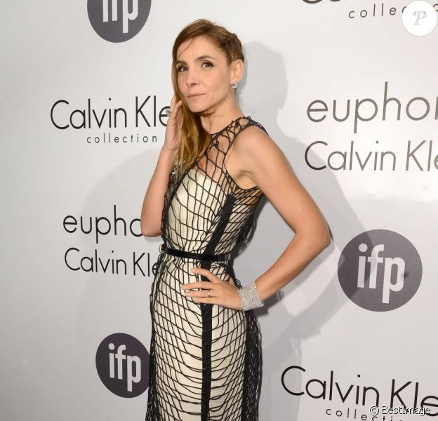 Laprincesse Clotilde Courau à la Soirée Calvin Klein à la plage de l'Ecrin lors du 66e festival de Cannes le 16 mai 2013.