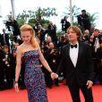 Nicole Kidman et Keith Urban posent avant la montée des marches du film Inside Llewyn Davis au Palais des Festivals, à Cannes, le 19 mai 2013.