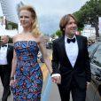 Nicole Kidman et Keith Urban arrivent à la montée des marches du film Inside Llewyn Davis au Palais des Festivals, à Cannes, le 19 mai 2013.