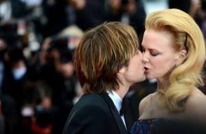 Cannes 2013 : Nicole Kidman, amoureuse, s'offre un baiser fougueux avec son mari