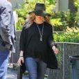 Fergie, enceinte, se rend en solo à l'eglise à Santa Monica, le 19 mai 2013.