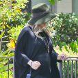 Fergie, enceinte, se rend à l'église à Santa Monica, le 19 mai 2013.