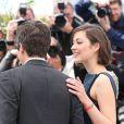 Guillaume Canet et Marion Cotillard complices au photocall du film Blood Ties au 66e Festival du film de Cannes, le 20 mai 2013.