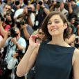 Marion Cotillard pendant le photocall du film Blood Ties au 66e Festival du film de Cannes, le 20 mai 2013.