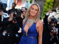 Cannes 2013 : Sharon Stone ultradécolletée pour le Liberace Michael Douglas