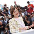 Kristin Scott Thomas lors du photocall du film Only God Forgives lors du 66e Festival de Cannes le 22 mai 2013.