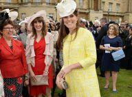 Kate Middleton, enceinte de 7 mois : Solaire en garden party royale à Buckingham