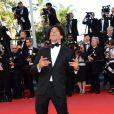 Tomer Sisley lors de la montée des marches pour la clôture du Festival de Cannes le 26 mai 2013