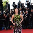 Zhang Ziyi lors de la montée des marches pour la clôture du Festival de Cannes le 26 mai 2013